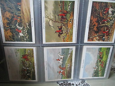 Victoria Gallery**old Hunting Prints(Players)**set Of 25 Cards