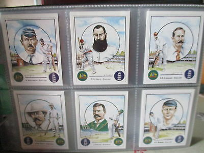 Victoria Gallery**ashes Winning Captains**set Of 25 Cards