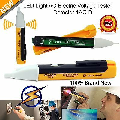 GOOD! AC Non-Contact Electric Voltage Detector Tester Test Pen 90~1000V LCD NR