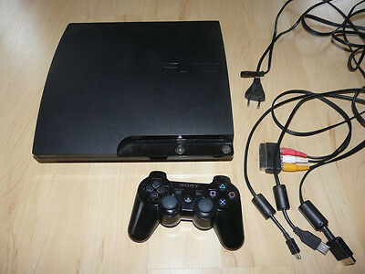 Playstation 3 Slim 120GB + Controller  (PS3) CECH-2004A