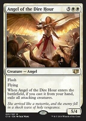 ANGEL ADVERSITY - ANGEL OF THE DIRE HOUR Magic C14 Commander 2014