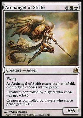 ARCHANGEL OF CONFLICT - ARCHANGEL OF STRIFE Magic CMD Mint