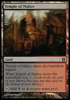 TEMPLE OF MALIZIA - TEMPLE OF MALICE Magic BNG Mint