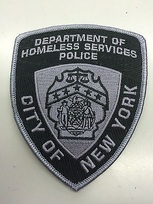 NYC DHS PD patch-RARE