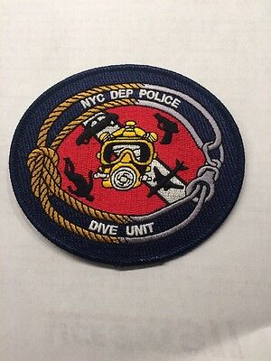Nyc Department Of Environmental (Dep) Police Dive Unit Patch