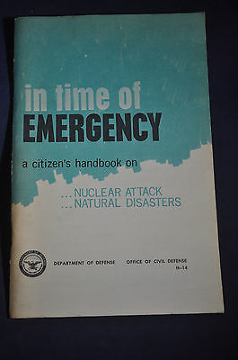 1968 Time of Emergency: Nuclear Attack & Natural Disasters, Columbia County, NY