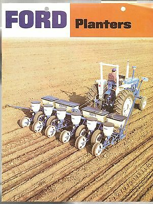 1977 Ford Tractor Planters 352 354 309 Equipment Brochure