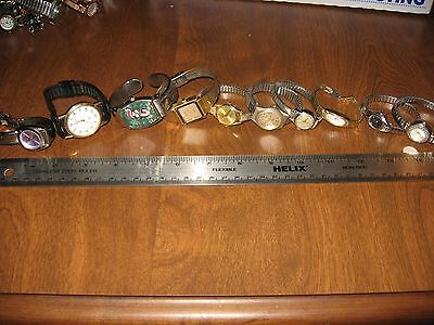 Lot of 10 watches -