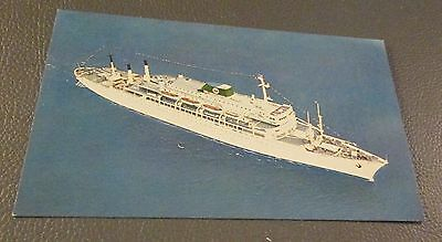Postcard...., CRUISE SHIPS ...THE BRASIL---MOORE-MCCORMACK LINES