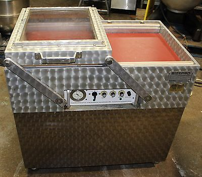 Bizerba Commercial Double Chamber Vacuum Bag Sealer Packaging Machine D63