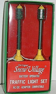 Department 56 - Snow Village - Traffic Lights #55000