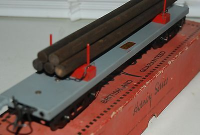 HORNBY SERIES O GAUGE No 2 LUMBER WAGON IN GREY LIVERY WITH ORIGINAL BOX