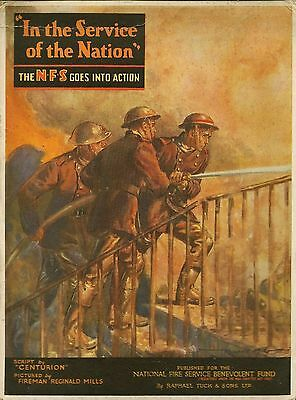 Ww2  Book  - In The Service Of The Nation - 1944