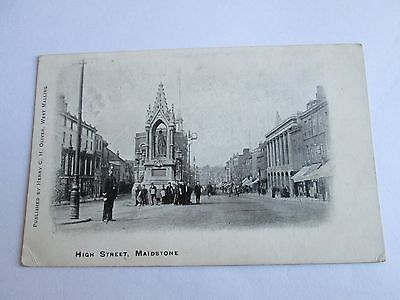 Postcard of High Street, Maidstone (posted 1904)