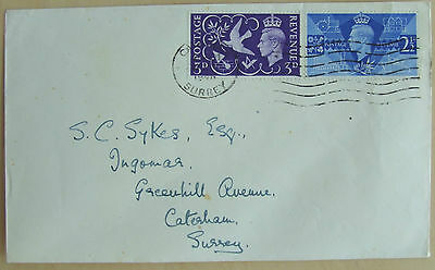 1946 GB First Day Cover Peace