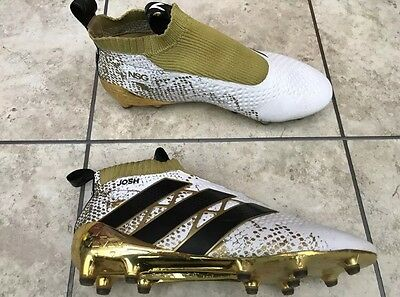 Adidas Ace 16 PureControl FG 8.5 Football Boots White + Gold