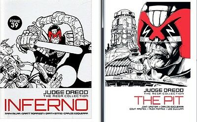 JUDGE DREDD the Mega collection # 32 & 39 The Pit  + Inferno