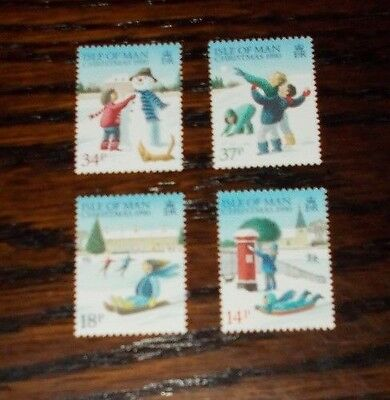 Isle Of Man Mint Stamps Christmas 1990 - Choose Variation Set
