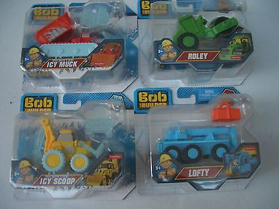 Bob The Builder Die Cast Vehicles Icy Scoop Lofty Icy Muck Roley  New and Sealed