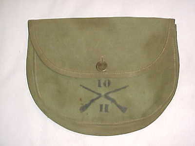 ORIGINAL & VG CONDITION 1st Pat. M1910 Meat Can Carrier (10th Inf. Regt-Marked)