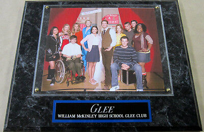 #1 FAN GLEE CAST framed 8 x 10 PHOTO WALL DISPLAY POSTER  cory monteith