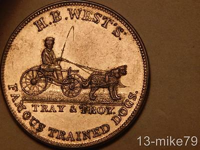 Miller NY 949 AU+ New York Merchant Token/Medal.