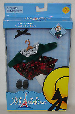 """Madeline 7 1/2"""" - 8"""" Doll Clothing Fancy Dress Outfit Set NEW!!"""