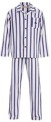 Peter Alexander Mens Classic Striped Cotton PJ Set Sz  L NWT RRP $109