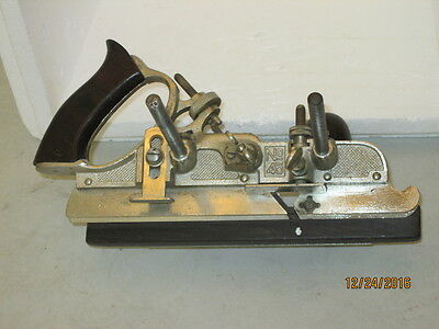 Vintage Stanley No 45 Combination Wood Plane And 16 Cutters / Blades