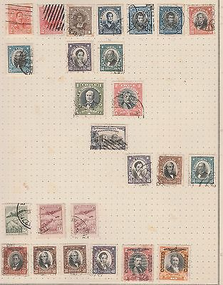 CHILE COLLECTION Assorted on Old Album Page, As per Scan (Removed to Ship) #
