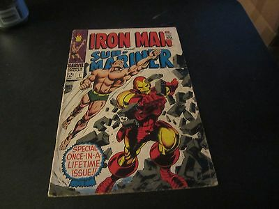 Iron Man & Sub-Mariner #1 Awesome Silver Age Key Issue See My Others !!!