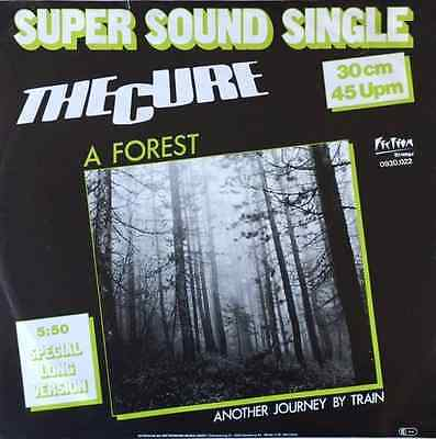 """THE CURE - A Forest (12"""") (EX/VG)"""