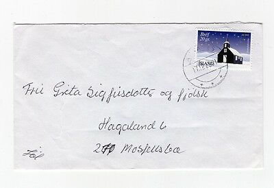 Iceland Christmas Cover 2001 Akranes