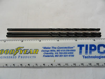 """Cleveland 9/64"""" Taper Length Drill Bits, With Tang, C08674"""