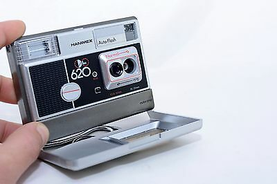 Vintage Hanimex Tele Disc 620 Disc Camera Photography Collectable Photo