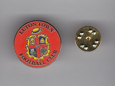 Luton Town - lapel badge butterfly fitting