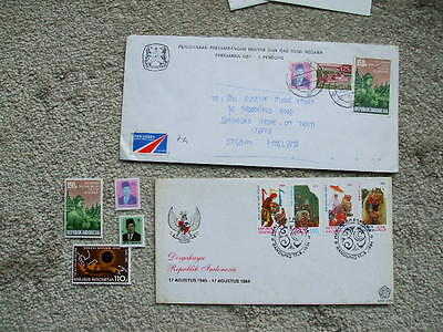 2 First Day Covers & Mint Stamps