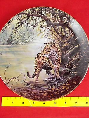 "Collector Plate, Big Cats of the World, A Jaguar ""Deep in the Jungle"" D. Manning"