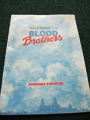 blood brothers programme 1988