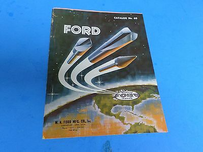Rotary Ford Tools, Catalog 60, Dated 1960, M.a. Ford Mfg. Co. Iowa
