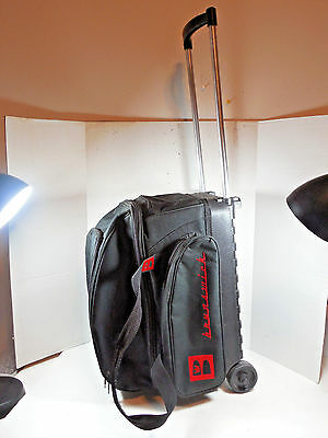 Brunswick 2 Bowling Ball Double Speed Roller Model 59-106140 Bag Carrier Luggage