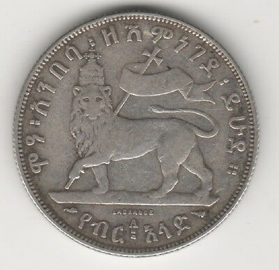Ethiopia Lot 4 Old Coins With Silver