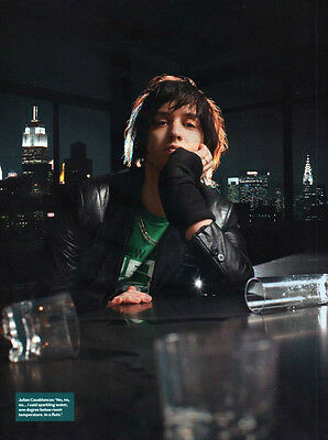 Julian Casablancas - The Strokes - A4-size Magazine Picture Photo Cutting