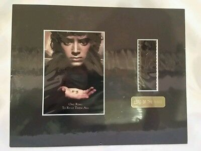 NEW SEALED Lord of Rings LOTR One Ring To Rule Them All Film Cell Strip