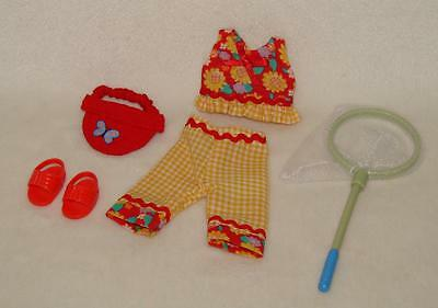 """Madeline 8"""" Doll Butterfly Catcher Outfit Clothing Set"""