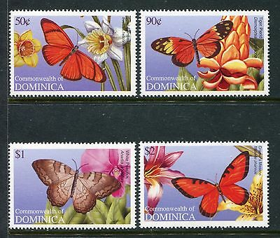 Dominica 2695-2698, MNH. Insects Butterflies 2009. x26009