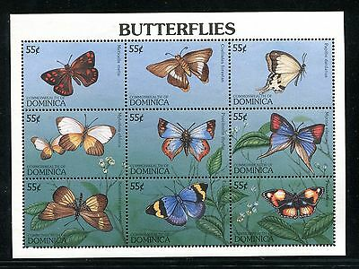 Dominica 1914, MNH. Insects Butterflies 1997. x26000