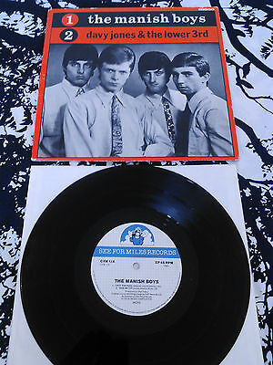 "The Manish Boys / Davy Jones & The Lower Third 10"" Ep / Pity The Fool ... Bowie"