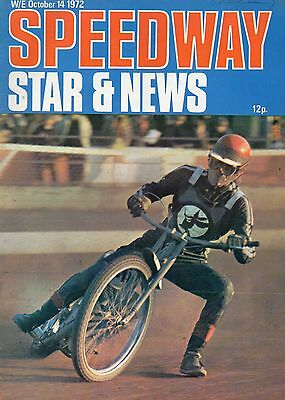 Speedway Star And News October 14, 1972.