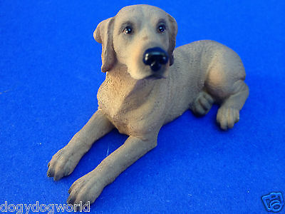 Weimaraner Dog Doggy Collectible Statue Home Decor Siitting Doggy Figurine Pet